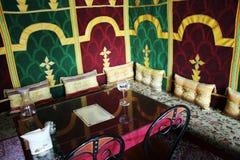 Restaurant de Morrocan photo libre de droits