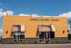 Restaurant de pain de Panera image stock