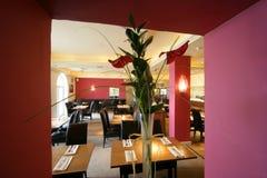 Restaurant de pièce de Dinning Photos libres de droits