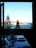 Restaurant de plage de Bondi Image libre de droits