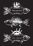 Restaurant de poissons Photos libres de droits