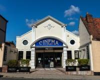 Restaurant de Prezzo dans le vieux bâtiment de cinéma dans Beccles image stock