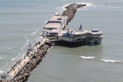 Restaurant de Rosa Nautica de La à Lima, Pérou photo libre de droits