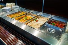 Restaurant de service d'individu Photo stock