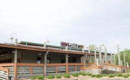 Restaurant de Shack de crabe de Joes Photographie stock