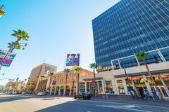 Restaurant de sirènes dans Hollywood Boulevard Photo stock