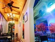 restaurant de style du toscan photos libres de droits