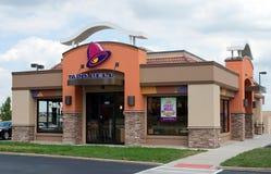 Restaurant de Taco Bell Photographie stock libre de droits