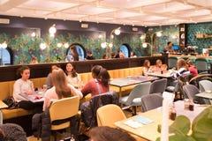 Restaurant de Temakinho Images stock