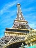 Restaurant de Tour Eiffel à Las Vegas Photo stock