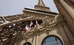 Restaurant de Tour Eiffel Photographie stock