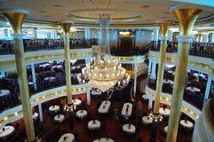 Restaurant in der Kreuzfahrt Lizenzfreie Stockfotos
