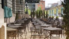 Restaurant in der Verbands-Station Lizenzfreies Stockfoto