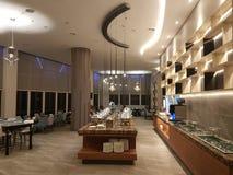 21st september 2017 kuala lumpur. A new restaurant view design Royalty Free Stock Photo