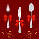 Restaurant design elements. Background vector Stock Photo