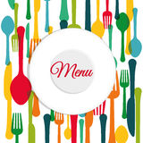 Restaurant design. Royalty Free Stock Photos