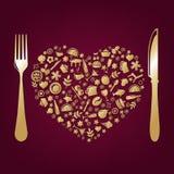 Restaurant Design. Vector Stock Images