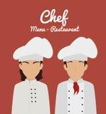 Restaurant design, vector illustration. Stock Photos