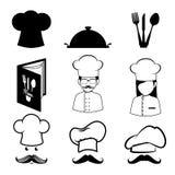 Restaurant design, vector illustration. Stock Image