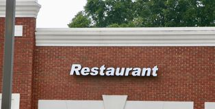 Restaurant and Diner Royalty Free Stock Image