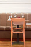Restaurant diner table Royalty Free Stock Images