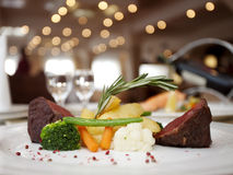 Restaurant Dinner Royalty Free Stock Image