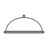 Restaurant dome Bell Stock Images