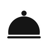 Restaurant dome Bell Stock Photography