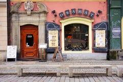 Restaurant Dramat Stock Photo