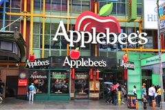 Restaurant du ` s d'Applebee Image stock