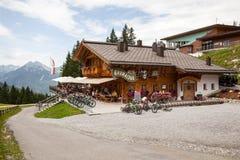Restaurant  in Ehrwald Royalty Free Stock Photo