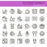 Restaurant Elements Stock Image