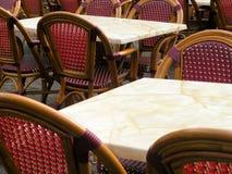 Restaurant en France Photos stock