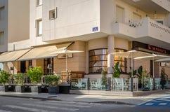 Restaurant en San Pedro de Alcantara Images libres de droits