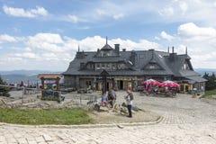 Restaurant en toeristenherberg Stock Afbeeldingen