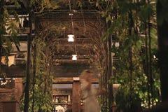 Restaurant entrance Royalty Free Stock Photos