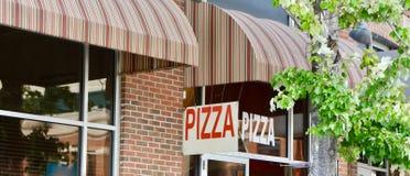 Restaurant et restaurant de pizza Image libre de droits
