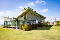 Restaurant et surveillance, colline de hampe de drapeaux, Bowen Images libres de droits