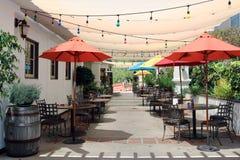 Restaurant extérieur Photographie stock