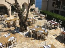 Restaurant extérieur Photos stock