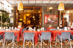 Restaurant in Figueres Catalonia Spain Stock Photography