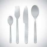 Restaurant of food utensils illustration design Royalty Free Stock Images