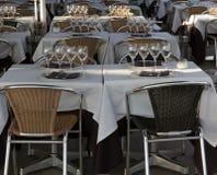 Restaurant foreground Royalty Free Stock Photo