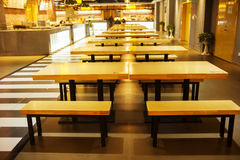 Restaurant furniture and interior fixtures Royalty Free Stock Photo