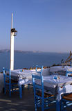Restaurant greek islands Stock Photography
