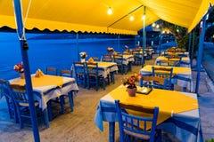 Restaurant in Griekenland Royalty-vrije Stock Fotografie