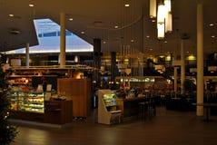 The restaurant hall. Stock Image