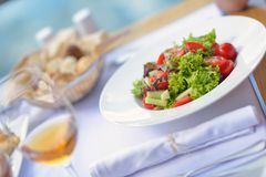 Restaurant healthy meal Royalty Free Stock Image