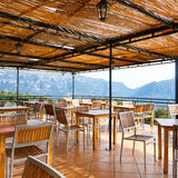 Restaurant in the highland. Of Mallorca, Spain Royalty Free Stock Image