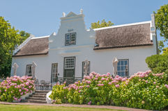 Restaurant in a historic building. CAPE TOWN, SOUTH AFRICA - DECEMBER 15, 2014:  Restaurant in a historic building on the Zevenwacht Wine Estate near Bellville Stock Image